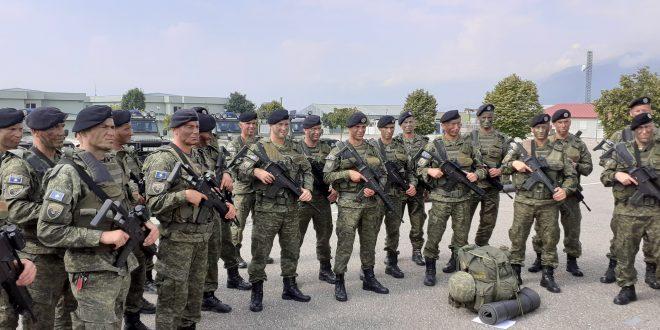 """Një Kontingjent i Forcës së Sigurisë të Kosovës po merr pjesë në ushtrimin """"Albanian Effort 19"""""""