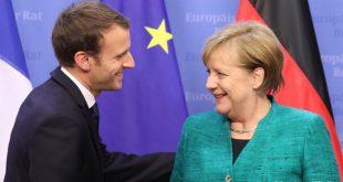 Emmanuel Macron dhe Angela Merkel i bëjnë thirrje Rusisë që t'i tërheqë trupat nga kufiri me Ukrainën
