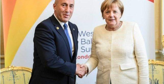 Kryeministri Haradinaj thotë së Gjermania mbështetë fuqishëm anëtarësimin e Kosovës në INTERPOL
