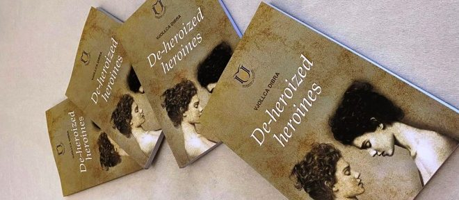 """Adem Lushaj: Doli nga shtypi libri, """"De-heroized heroines"""" i autores, prof. Ass. Dr. Vjollca Dibra"""