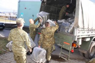 Forca e Sigurisë së Kosovë e ndihmon Shqipërinë me pajisje për strehim