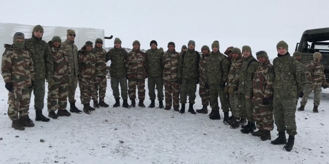 """Ushtarët e FSK-së po marrin pjesë në ushtrimin fushor ndërkombëtar """"WINTER EXERCISE 19"""" në Turqi"""