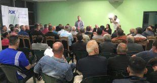 Lulzim Shoshi kërkon nga veteranët e UÇK-së të komunës së Burimit qëta mbështesin fuqishëm PDK-në më 6 tetor