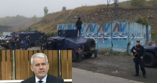Xhelal Sveçla: Aksioni i Policisë së Kosovës në veri të vendit ka të bëjë me targat e automjeteve