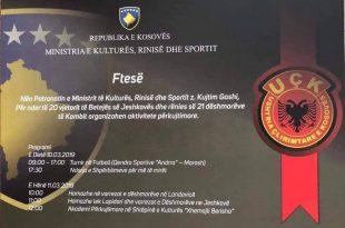 Të hënen mbahet Akademi për nder të 20 vjetorit të Betejës së Jeshkovës dhe rënies së 21 dëshmorëve të kombit