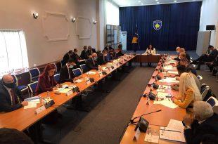 Kryesisë së legjislaturës së shtatë të Kuvendit vendos që seanca konstituive e legjislaturës së re të mbahet të hënën