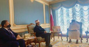 Kryetari i Bashkësisë Islame të Kosovës, myftiu Naim Tërnava po qëndron për një vizitë zyrtare në Katar