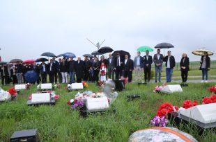Në Skenderaj janë përkujtuar sot dëshmorët e UÇK-së Gani Uka, Muharrem Zeneli dhe Skender e Mustafë Skenderi