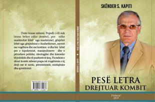 """Bedri Tahiri: Doli në dritë libri i Skënder S. Kapitit: """"PESË LETRA DREJTUAR KOMBIT"""""""