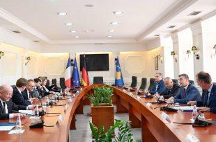 Kryekuvendari Veseli kërkon nga delegacioni i Francës dhe Gjermanisë agjendë të qartë evropiane për Kosovën