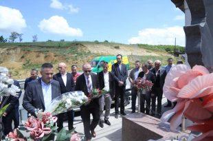 Në Skenderaj përkujtohen dëshmorët e kombit Mustafë Haxhiu, Gëzim Ferizi, Isuf Aliqkaj dhe martiri i lirisë Bedri Haxhiu
