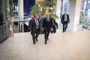Haradinaj takon nëtarët e Grupit Parlamentar për Europën Juglindore të Bundestagut, Josip Juratovic, Nezahat Baradari