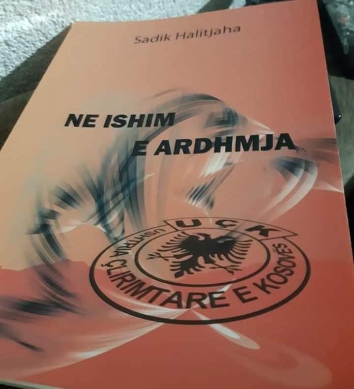"""Ibrahim Shala: Libri i Sadik Halitjahës """"Ne ishim e ardhmja"""", trajton organizimin dhe disa segmente të luftës së UÇK-së"""
