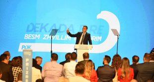 Kryetar i PDK-së, Kadri Veseli ka nisur reformat në parti dhe betejën kundër korrupsionit