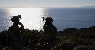 """Në kufijtë e Turqisë me Greqinë në Detin Egje ka filluar stërvitja e madhe e quajtur, """"Europe Defender 2021"""""""