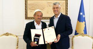 Thaçi: Familja e Sefë Mleqanit ishte vatër e atdhetarizmit edhe gjatë luftës së Ushtrisë Çlirimtare të Kosovës