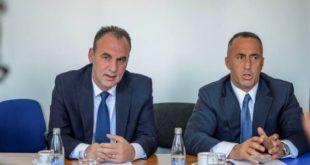 Ramush Haradinaj dhe Fatmir Limaj