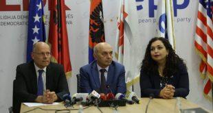 Kryetari i LDK-së, Isa Mustafa uron e zgjedhjen e deputetit të CDU-së si raportues për Kosovën