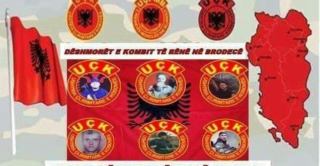 Sot bëhen 12 vite nga rënia heroike e gjashtë dëshmorve të atdheut në Brodec të Tetovës