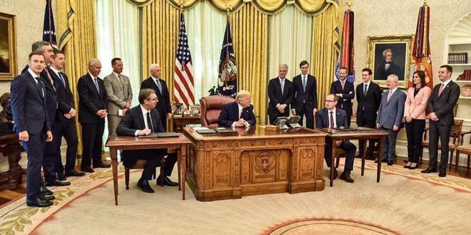 Marrëveshja në Uashington: Jo njohja e Kosovës nga Serbia, jo shkëmbim territoresh, por status-quo dhe fitore për Amerikën