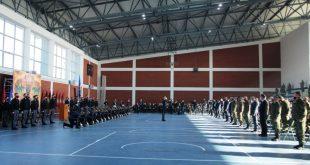 Me ceremoni ushtarake u shënua 27 Nëntori - Dita e Forcës