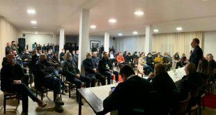 Fatmir Limaj, ka zhvilluar disa takime me bashkëluftëtarë, si dhe me struktura e qytetarë të Ferizajt,