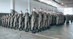 """Sot në Kazermën e FSK-së """"Skënderbeu"""", në Ferizaj është mbajtur ceremonia e betimit të 180 rekrutëve të rinj"""