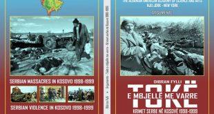 """Të hënën përurimin e librit me argumente 'Tokë e mbjellë varre – krimet serbe në Kosovë 1998/1999"""" e autorit Dibran Fylli"""