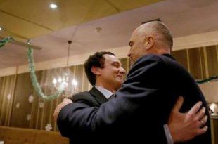 Kryeministri shqiptar, Edi Rama ka pritur në takim kreun e Lëvizjes Vetëvendosje, Albin Kurtin