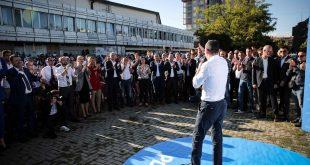 Ditën e tetë të fushatës zgjedhore Partia Demokratike e Kosovës e ka nisur në qytetin e Gjakovës
