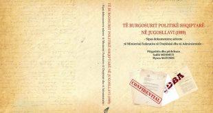 """Të martën në Institutin Albanologjik përurohet vepra """"Të burgosurit shqiptarë në Jugosllavi (1989)"""""""