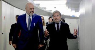 Nëse nuk hapen negociatat nuk do të ishte për ndonjë dështim të Shqipërisë, apo qeverisë së vendit, thotë Johannes Hahn