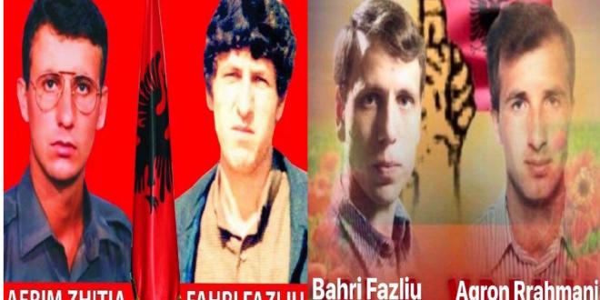 Më 23 nëntor 2019 mbahet Akademi përkujtimore me rastin e rivarrimit të heronjve Afrim Zhitia, Fahri e Bahri Fazliu dhe Agron Rrahmani