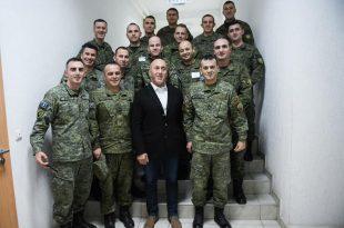 Kryetari i AAK-së, Ramush Haradinaj, ndihet shumë krenar me Ushtrinë e Kosovës