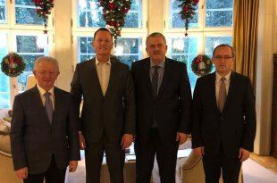 I dërguari i posaçëm i kryetarit amerikan Trump, ambasadori Richard Grenell, takon në Berlin një delegacion të LDK-së