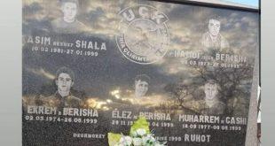 Sot nderohen dëshmorët Hamdi Berisha dhe Kasim Shala në 21 vjetorin e rënies se tyre heroike