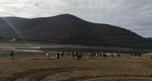 Disa qytetarë janë organizuar sot vullnetarisht dhe kanë pastruar Liqenin e Badovcit nga i cili furnizohet më ujë Prishtina