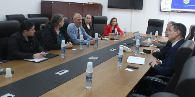 Drejtori i Përgjithshëm i AME-së priti në takim përfaqësues të Ambasadës Amerikane në Prishtinë