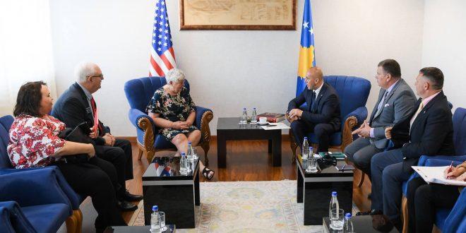 Kryeministri Haradinaj: Me shtetin amerikan të Iowa-s na lidhin shumë vlera të përbashkëta dhe bashkëpunimi