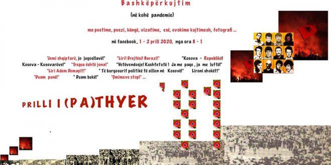 Më moton prilli i (pa)thyer, përkujtohen dëshmorët e Kryengritjes '81 me postime, poezi, vizatime, ese dhe evokime kujtimesh