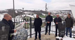 Në Nagac të Rahovecit përkujtohen dëshmorët e kombit, Nesimi Elshani dhe Habib Gashi dhe martirët e këtij fshati