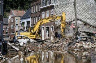 Raportohet për 36 të vdekur dhe qindra të zhdukur në Belgjikë si shkak i përmbytjeve serioze të ditëve të fundit