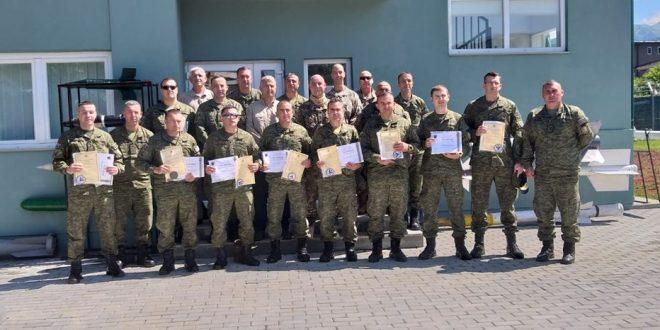 """Kompania e Deminimit e Gardës Kombëtare të FSK-së e realizon trajnimin """"EOD Niveli 3"""""""