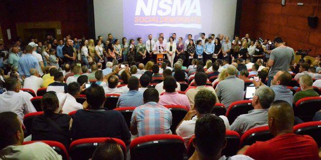 152 anëtarë të rinj i janë të profesioneve të ndryshme i janë bashkuar Nismës Socialdemokrate në Prizren