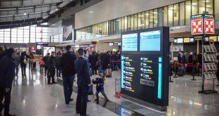 """Për shkak të mjegullës se dendur katër fluturime anulohen në Aeroportin Ndërkombëtar të Prishtinës, """"Adem Jashari"""""""
