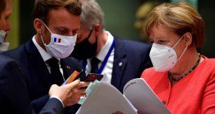 Merkel planifikon të vizitojë kryetarin francez Emmanuel Macron në rezidencën e tij verore në Mesdhe