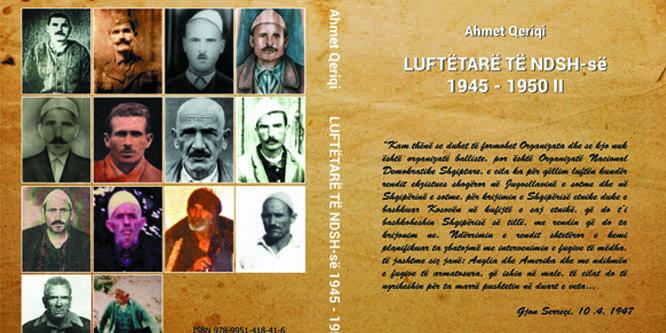 """Doli nga shtypi libri publicistik: """"Luftëtarë të NDSH-së, 1945-1950 II"""", i autorit, Ahmet Qeriqi"""