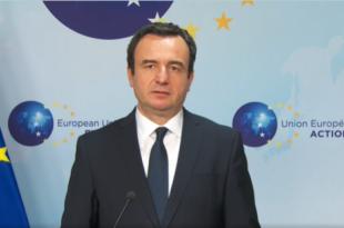 Albin Kurti: Në takimin e sotëm, Vuçiq, refuzoi propozimin për një marrëveshje me deklaratë paqeje mes Kosovës e Serbisë
