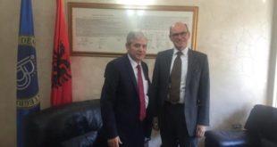 Kryetari i BDI-së, Ali Ahmeti është takuar me mbasadorin Norvegjez, Arne Sannes Bjornstad