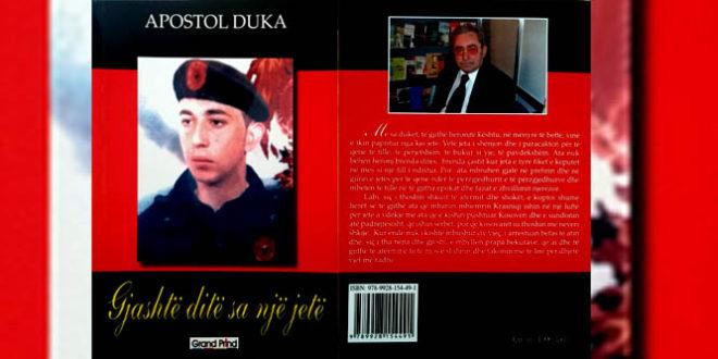 """""""Gjashtë ditë sa një jetë"""", i autorit, Apostol Duka, kushtuar dëshmorit, Labinot Krasniqi"""